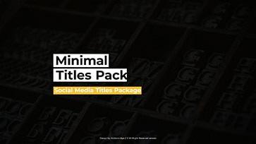 Social Media Titles