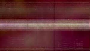 Bad TV Distortion Glitch