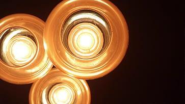 Vintage Light Bulb Off